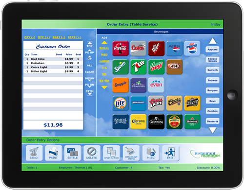 On Pos Restaurant Pos Systems Restaurant Pos Software
